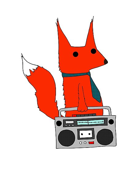 music fox by Michowl
