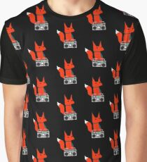 music fox Graphic T-Shirt