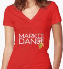 Marko! Dano! Women's Fitted V-Neck T-Shirt