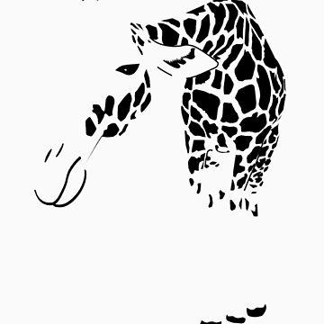 Giraffe by Ilovebubbles