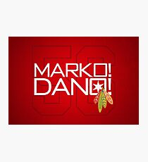 Marko! Dano! Photographic Print