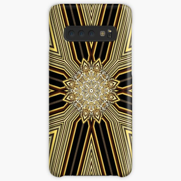 Creative Golden Lines (1) Samsung Galaxy Snap Case