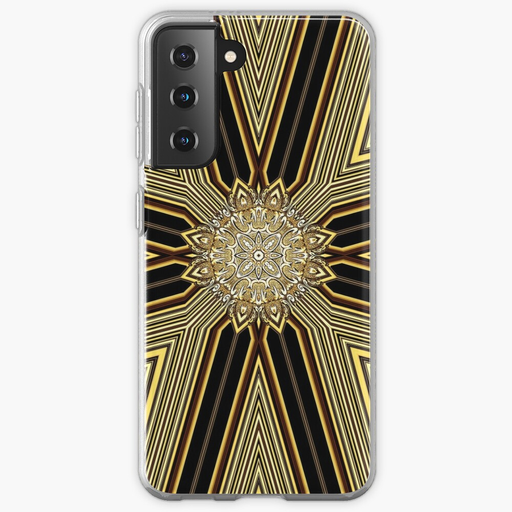 Creative Golden Lines (1) Case & Skin for Samsung Galaxy