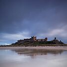 Bamburgh Castle in the late afternoon sun by damophoto
