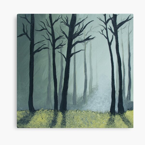 Mystical Wood Canvas Print