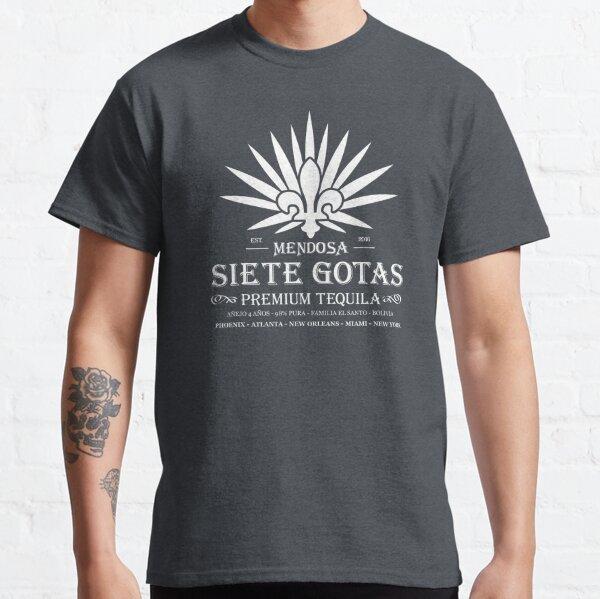 Siete Gotas - Mendosa Dark Tequila Classic T-Shirt