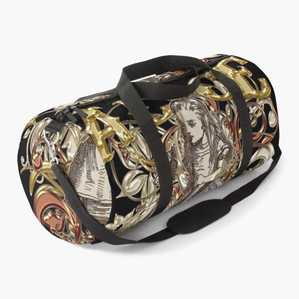 Alice In Wonderland Carnivale Style - Gold Version Duffle Bag