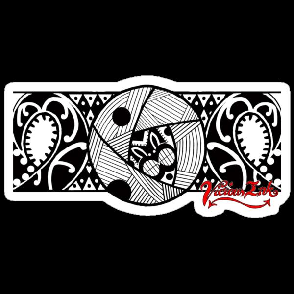 "Arm Tattoo Png Maori: ""Polynesian Armband"" Stickers By TattooPaul"
