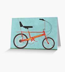 Chopper Bike Greeting Card