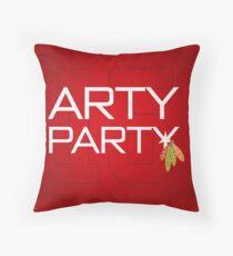 Arty Party Throw Pillow