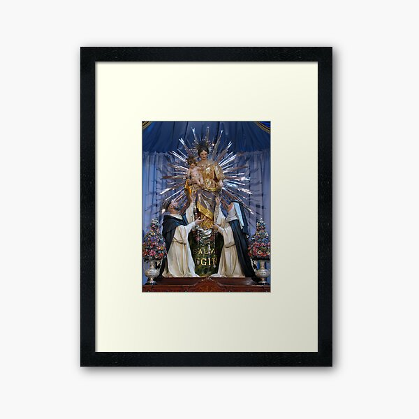 Our Lady of Pompeii Framed Art Print