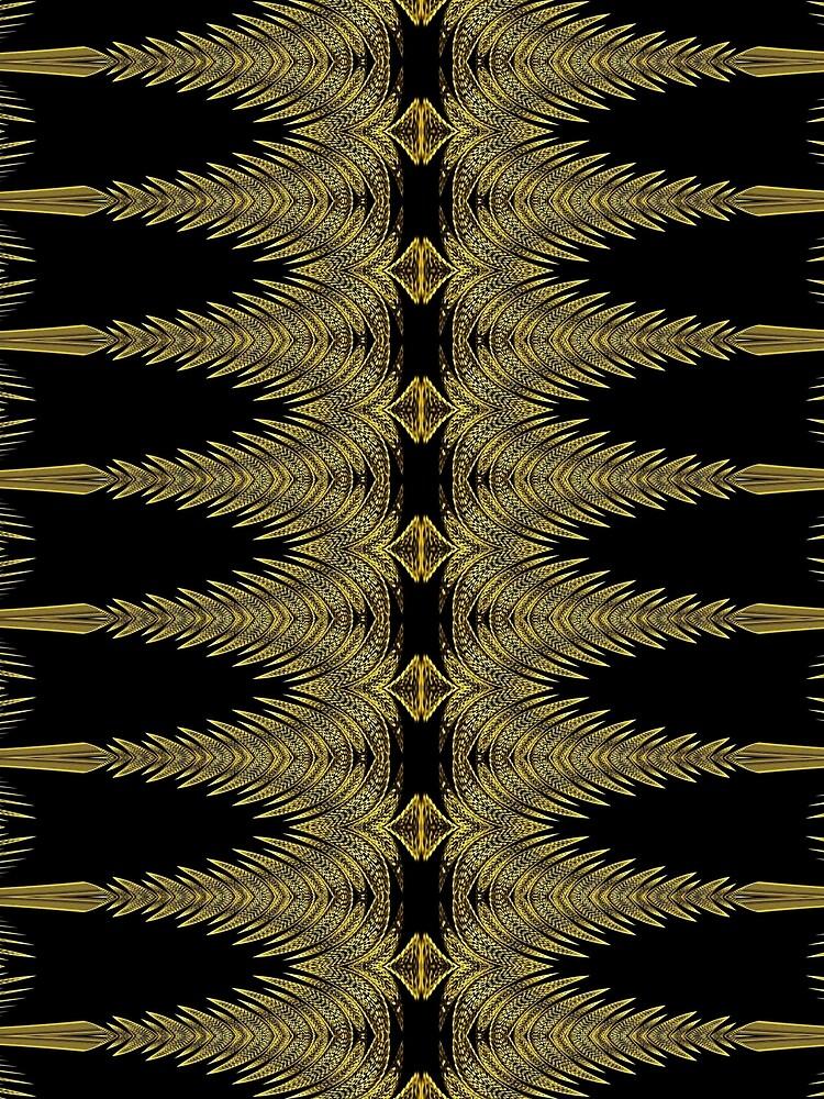 Golden Floral Creations (2) by vkdezine