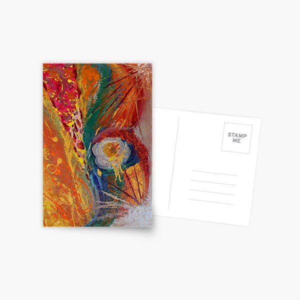 Abstract Painting 2 Postcard