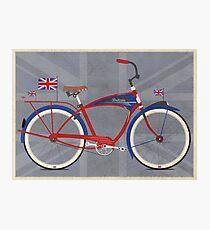 British Bicycle Photographic Print