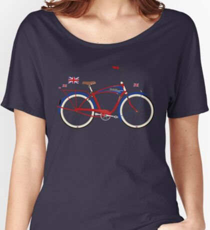 British Bicycle Women's Relaxed Fit T-Shirt