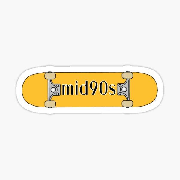 mid90s skateboard Sticker