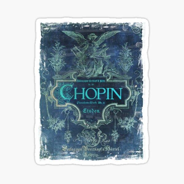 Frederick Chopin Blue Sticker