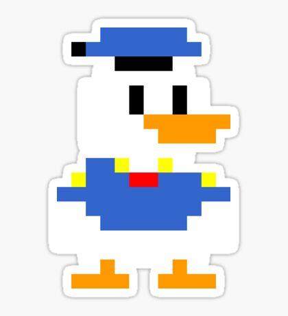 Super Mario Maker Costume - Donald Duck Sticker
