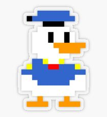 Super Mario Maker Costume - Donald Duck Transparent Sticker