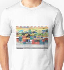 curacao Market Unisex T-Shirt