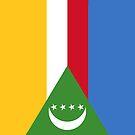 Comoros Flag by pjwuebker