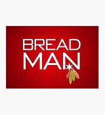 Bread Man Photographic Print
