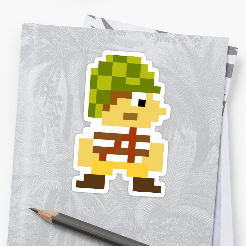 Super Mario Maker Costume - El Chavo Sticker