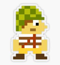 Super Mario Maker Costume - El Chavo Transparent Sticker