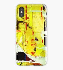 Old posters grunge iPhone Cases iPhone Case
