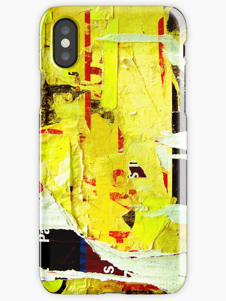 Old posters grunge iPhone Cases by ilolab