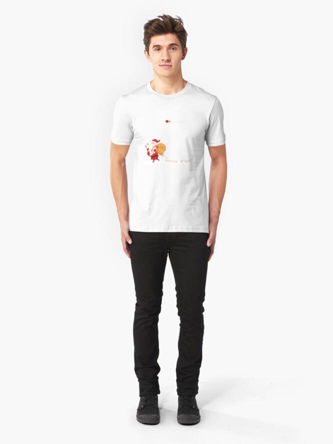 Alternate view of Sweet Merry Christmas Slim Fit T-Shirt