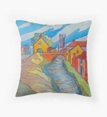 Helmsley, North Yorkshire Throw Pillow