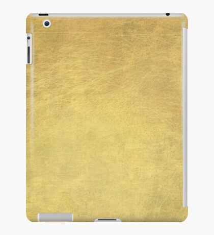 Gold iPad Case/Skin