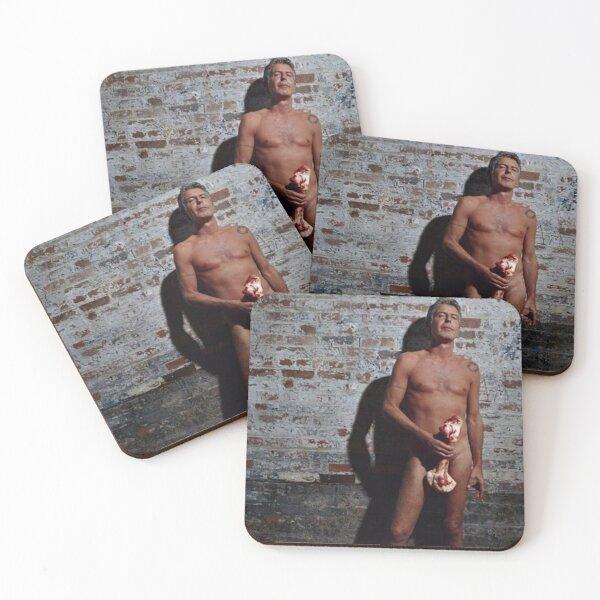 Thank you Anthony Bourdain 2 Coasters (Set of 4)