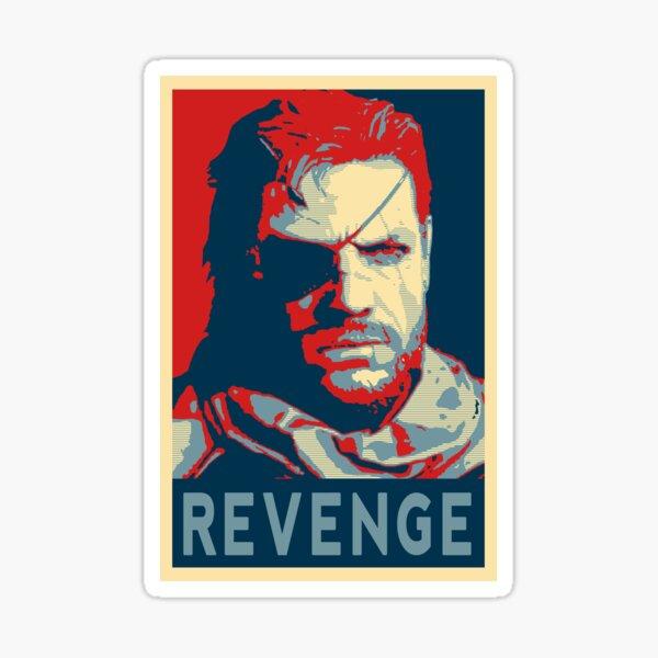 Big Boss for President - Metal Gear Soild V Sticker