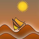 Golden Seas (iPhone/iPad) by ScaleDesigns