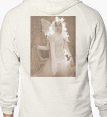 Winter Victorian Fairy Zipped Hoodie