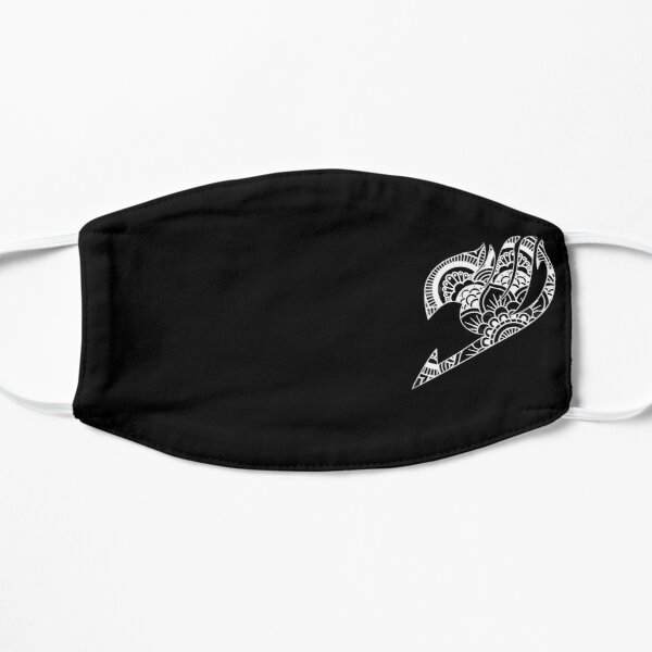 Mandala Fairy Tail Blanc - Noir Masque sans plis