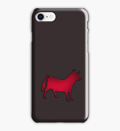 Toro - Bull - Burro VRS2 iPhone Case/Skin