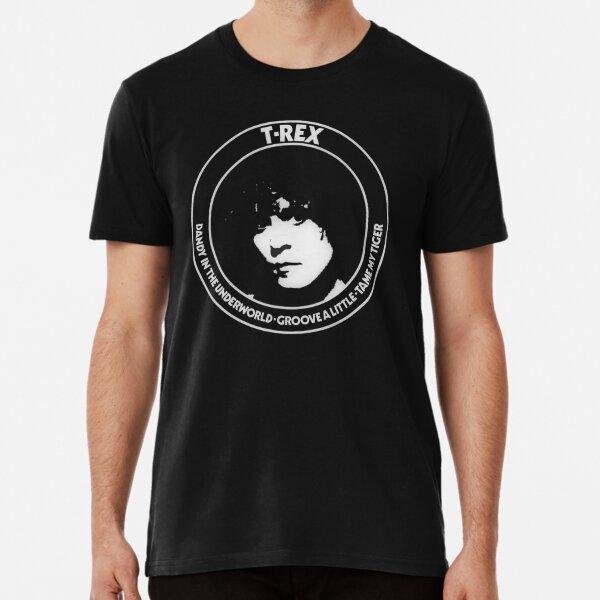 HAPPYHAPPYHAPPY T Rex Electric Warrior Boys Girls Short Sleeve T-Shirt Black