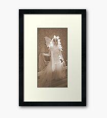Winter Victorian Fairy Framed Print