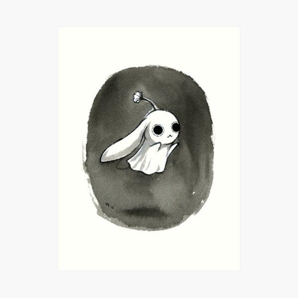 Ghost Bunny Art Print