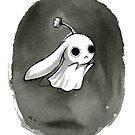 Ghost Bunny by Vivienne To