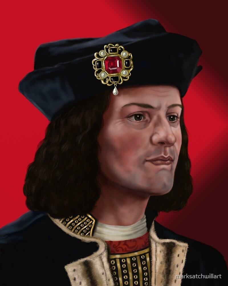 Richard III by marksatchwillart