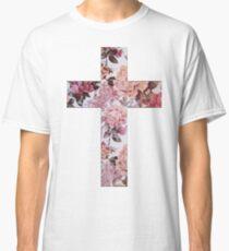 Floral Cross 3 Classic T-Shirt