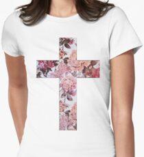 Floral Cross 3 T-Shirt