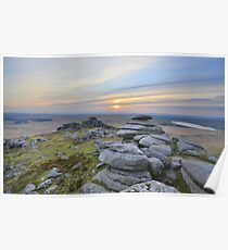 Cornwall: Last Light at Roughtor Poster