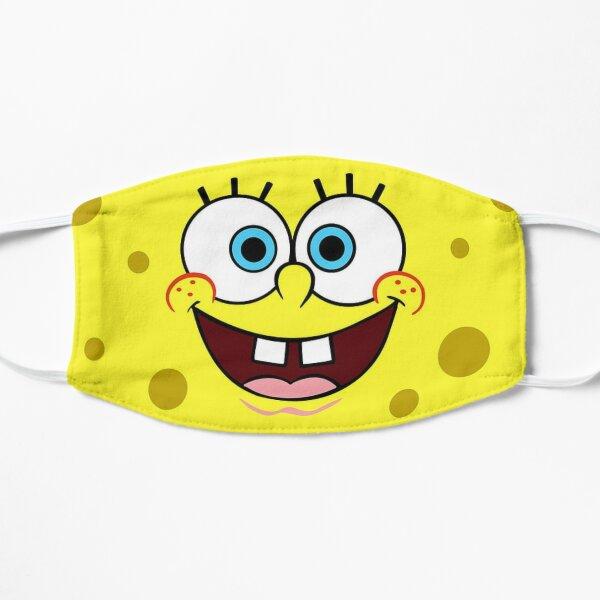 Spongebob Smiling Mask Flat Mask