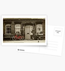 The Red Bicycle Postcards