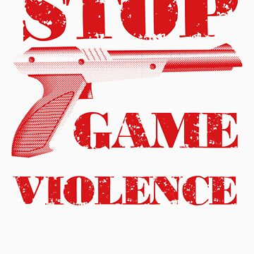 Stop Game Violence by johnperlock